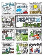 Desatero domácí ekologie – plakát s omalovánkou