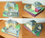 DOTEK papírový model