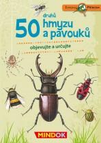 50 druhů hmyzu a pavouků