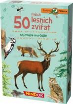 50 našich lesních zvířat