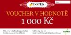Dárkový poukaz –  voucher – v hodnotě 1000 Kč