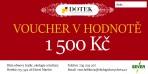 Dárkový poukaz – voucher – v hodnotě 1500 Kč