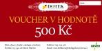 Dárkový poukaz – voucher – v hodnotě 500 Kč